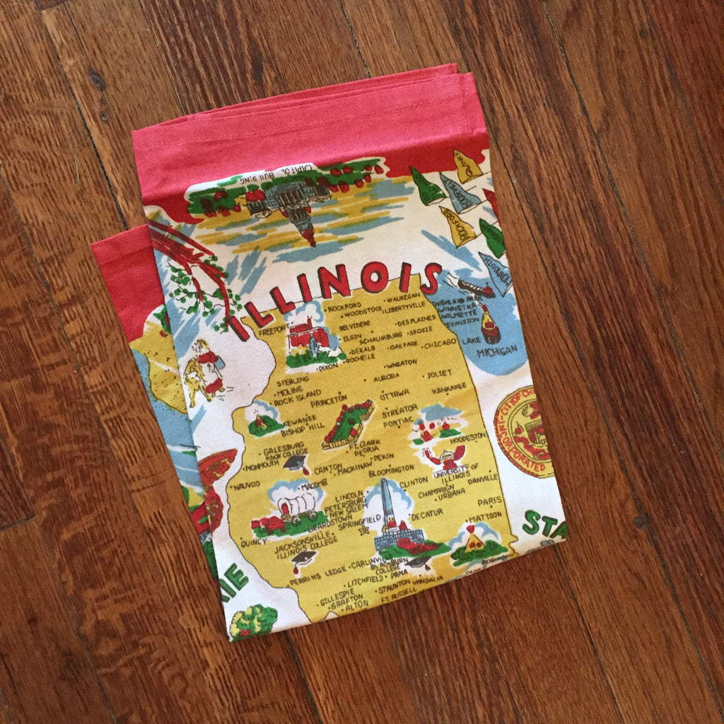 Illinois Tea Towel