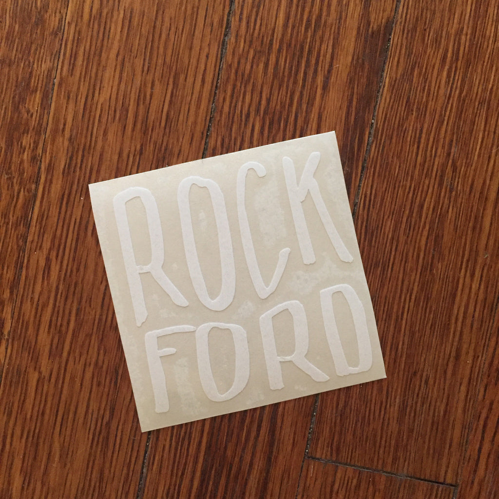 Rockford Michigan Decal