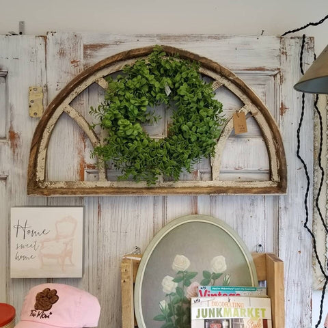 Farmhouse Demi Luna Wood Arch