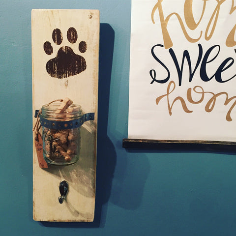 Dog Treat Plaque with Hook