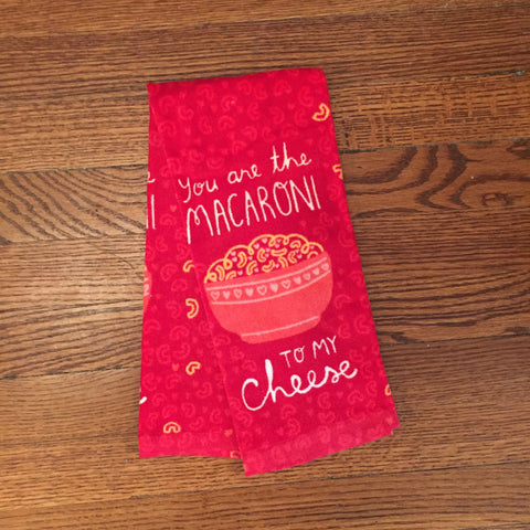 Macaroni & Cheese Kitchen Towel