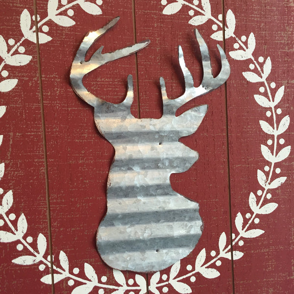 Rustic Happy Holidays Sign