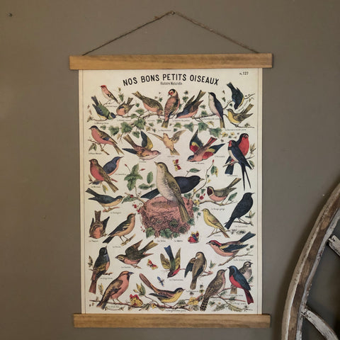 Bird Series Poster Wall Hanging