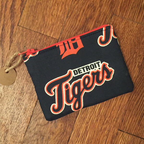 Detroit Tigers Coin Purse