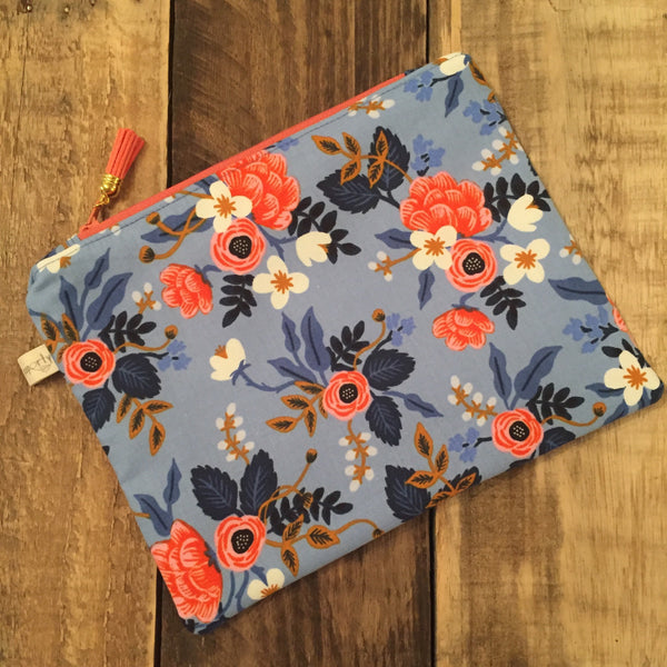 Rifle Paper Co Fabric Clutch