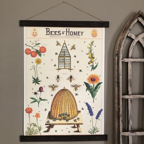 Beekeepers Guide Wall Print