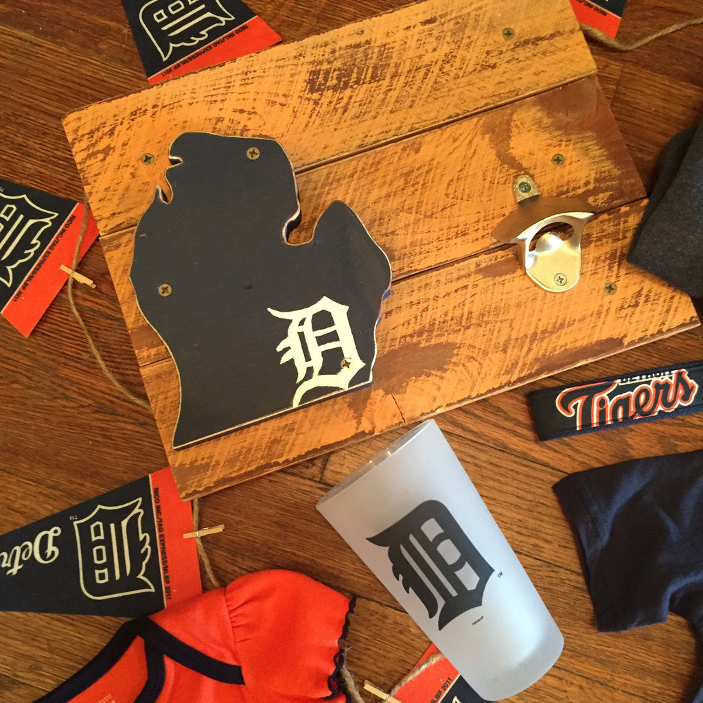 Detroit Tigers Bottle Opener