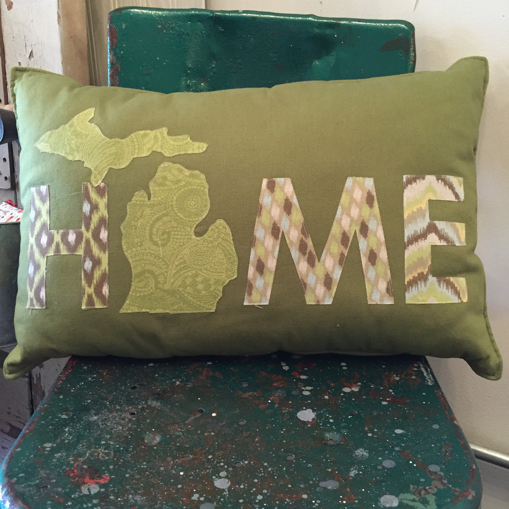 HOME Michigan Pillow