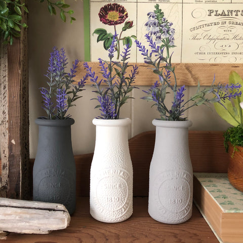 Farmhouse Milk Bottles
