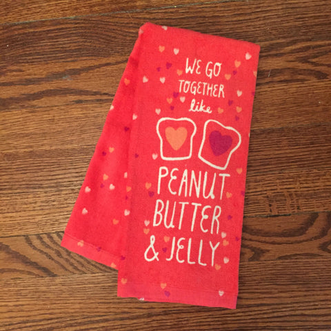 Peanut Butter & Jelly Kitchen Towel
