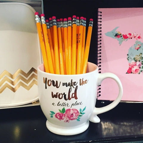 """You make the world..."" Coffee Mug"