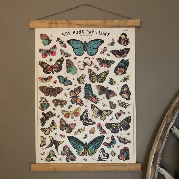 Butterfly Series Poster Wall Hanging