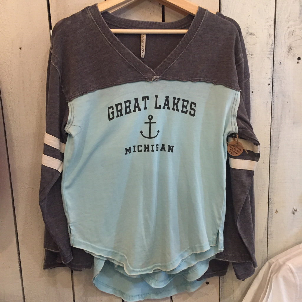 Great Lakes Distressed Shirt