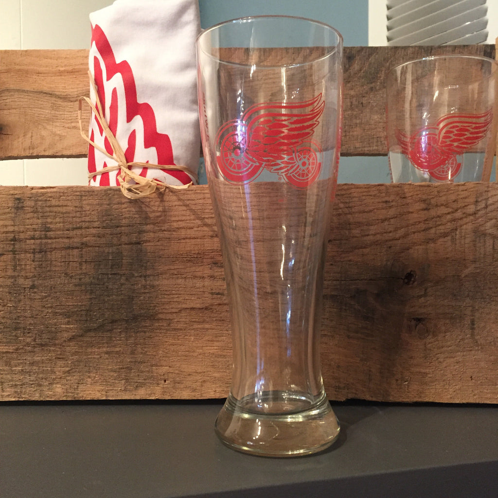 Detroit Red Wings Pilsner Glass