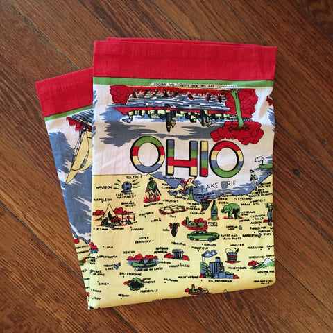 Ohio Tea Towel