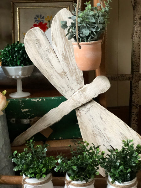 Rustic Wood Dragonfly