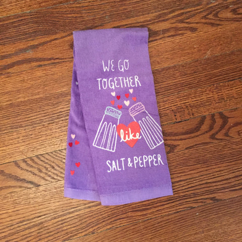 Salt & Pepper Kitchen Towel