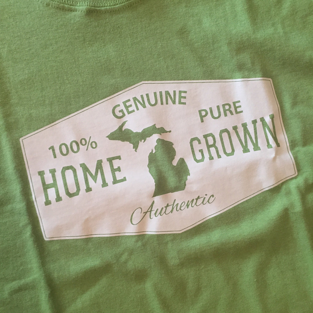 Home Grown T-Shirt - Lime Green