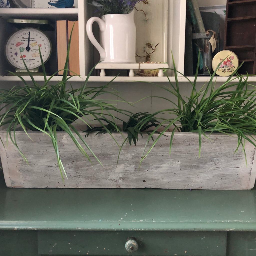 Farmhouse Trough Planter