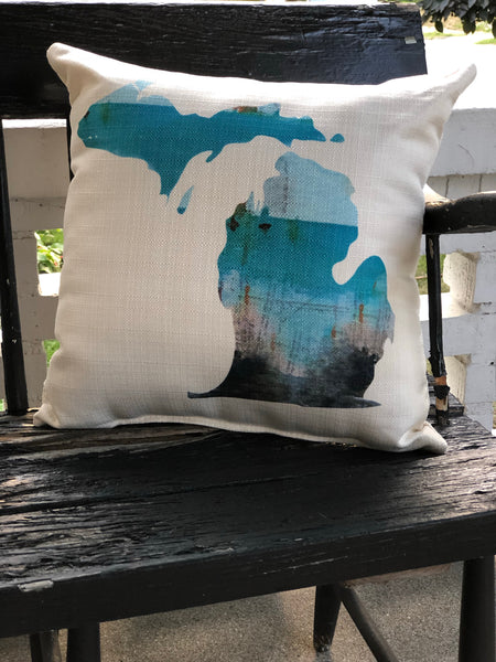 Michigan Beach Pillow