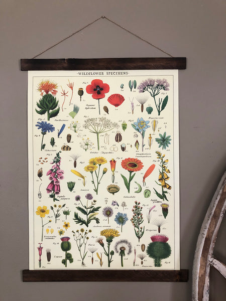 Wildflowers Poster Wall Hanging