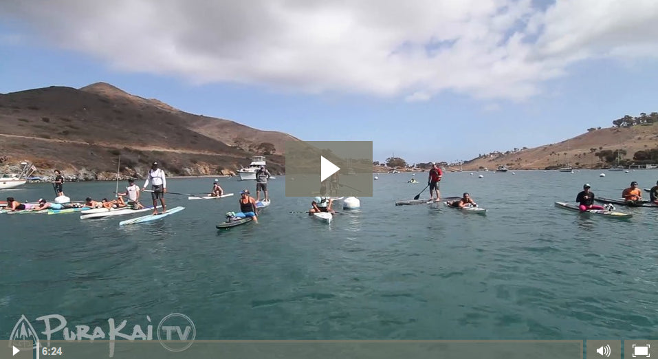 PuraKai TV with Fernando Stalla #6: Catalina West End Loop Paddle Race