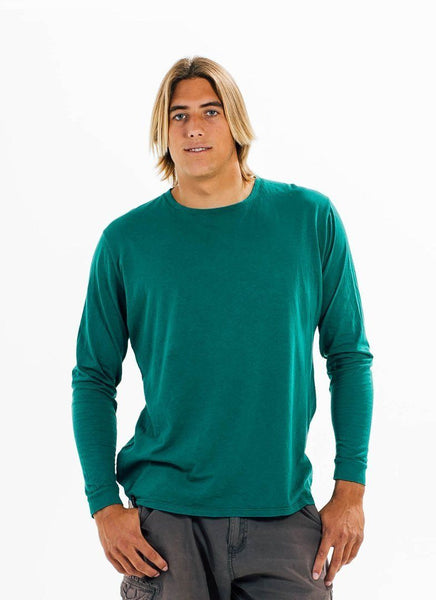 California Grown Organic Long Sleeve Crew - Shirt - PURAKAI - 3