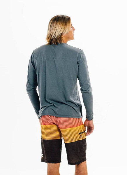 California Grown Organic Long Sleeve Crew - Shirt - PURAKAI - 4