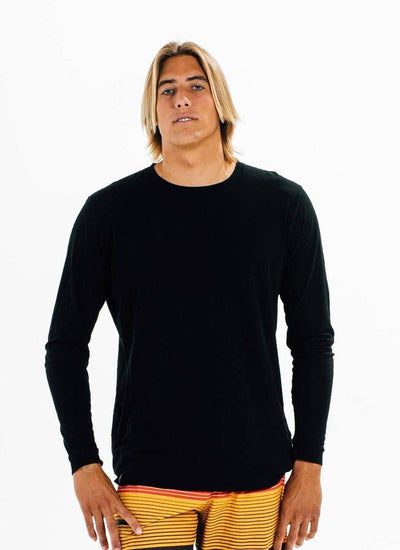 California Grown Organic Long Sleeve Crew - PURAKAI