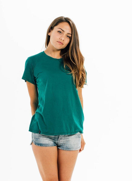 California Grown Organic Short Sleeve Tee - Women,CA Grown - PURAKAI - 6