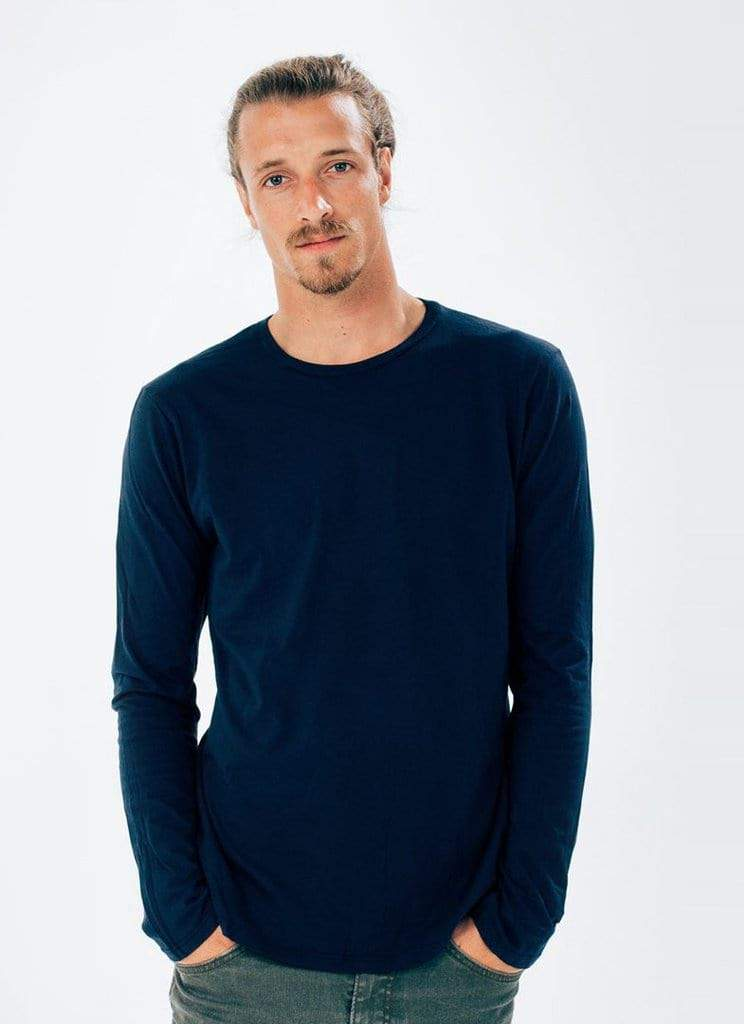 Men's Long Sleeve Crew) no-repeat; background-size:cover; background-position:top right;