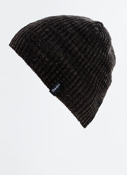 "Charcoal ""Sustainable"" Beanie - PURAKAI"