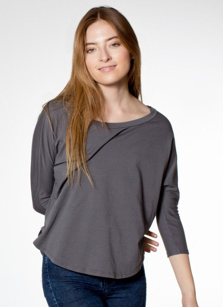 California Grown Organic Cotton Mid-Sleeve - PURAKAI