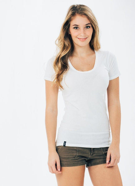 Organic Cotton Scoop Neck - PURAKAI