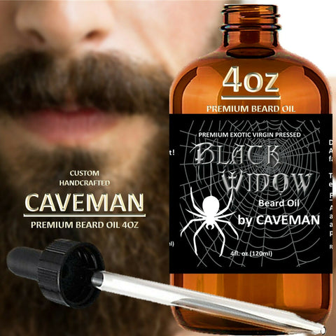 Black Widow Beard Oil