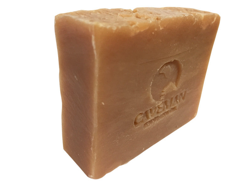 Orange Bourbon Beard Soap