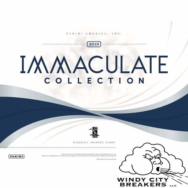 2019 Panini Immaculate Baseball 8-Box Case Pick Your Team #1 - EBAY LISTINGS END TUESDAY 7/23 @ 9PM CT, BREAKS WEDNESDAY 7/24 @ 12PM CT