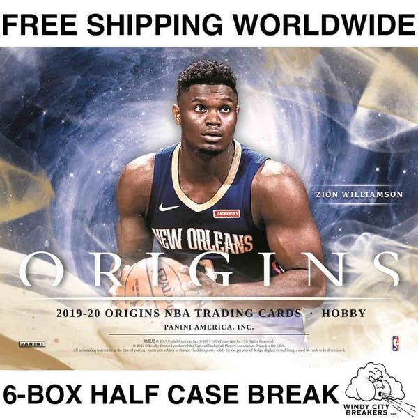 2019 Panini Origins Basketball 6-Box Half Case Pick Your Team #1 - EBAY LISTINGS END TUESDAY 12/17 @ 9:45PM CT, BREAKS WEDNESDAY 12/18 @ 8:30PM CT
