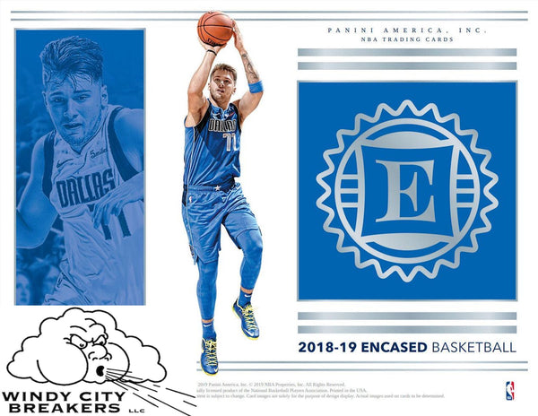2018-19 Panini Encased Basketball 4-Box Half Case Pick Your Team #1 - EBAY LISTINGS END THURSDAY 7/25 @ 9:45PM CT, BREAKS FRIDAY @ 12PM CT