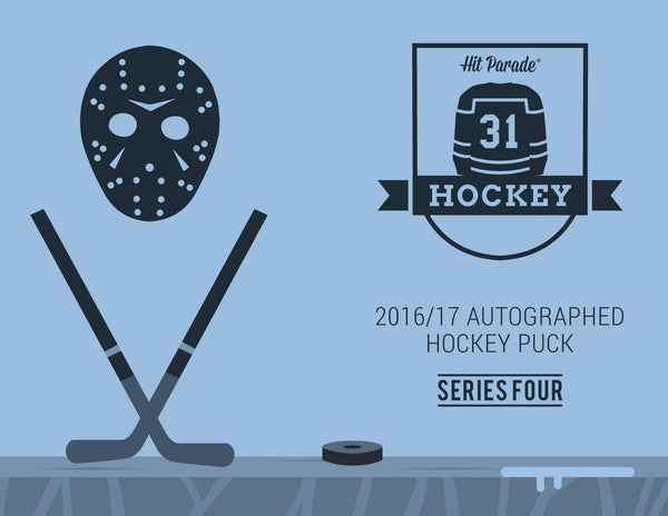 2016-17 Hit Parade Autographed Hockey Puck Series Four Random Teams #1