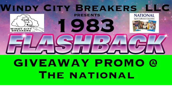 1983 FLASHBACK GIVEAWAY PROMO @ THE 2017 NATIONAL INFORMATION