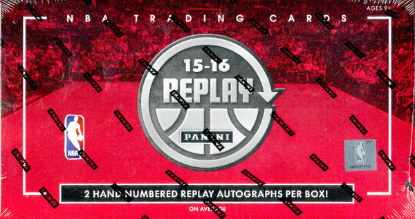 2015-16 Panini Replay Basketball 10-Box Full Case PYT #1 W/ PROMO @ THE NATIONAL