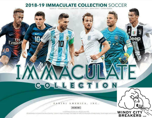 2018-19 Panini Immaculate Collection Soccer 6-Box Case Pick Your Team #1 - EBAY LISTINGS END SATURDAY 6/29 @ 9:15PM CT, BREAKS @ 11PM CT