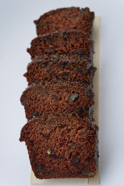 Date Nut Bread, vegan (minimum order 2 breads)