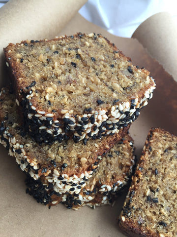 Banana Sesame Tahini Bread (to order text 305 458 7002)