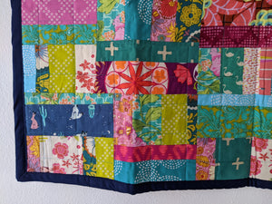 Mini Baby Quilt - Tiny Whiney