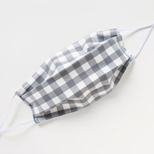 Cotton Mask - Gray Gingham