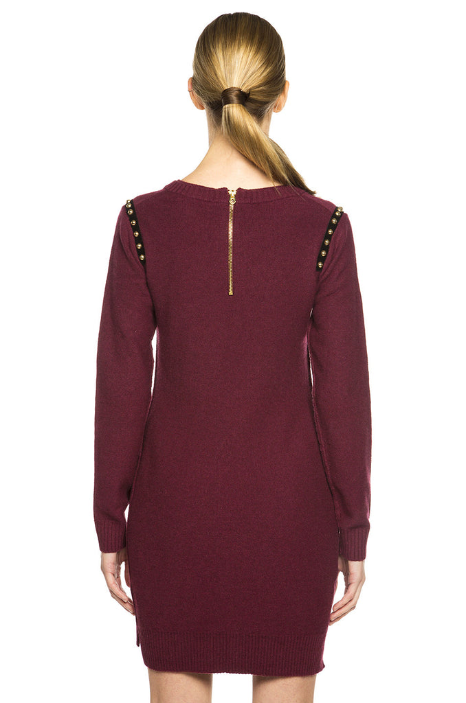 Studded Sweater Dress