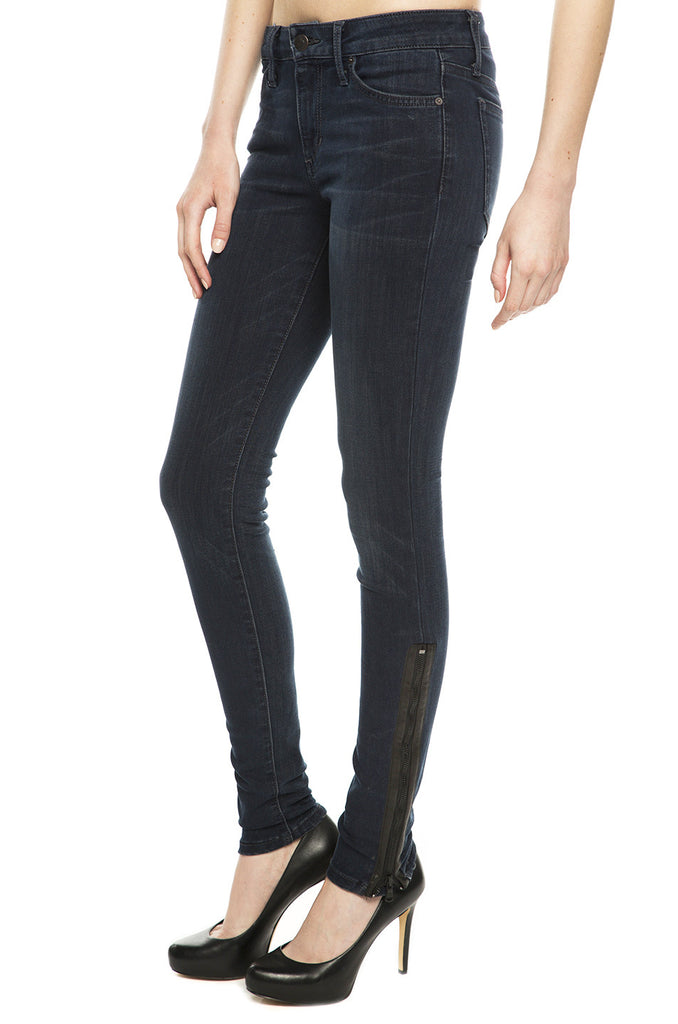 Extreme Zip Skinny Jeans