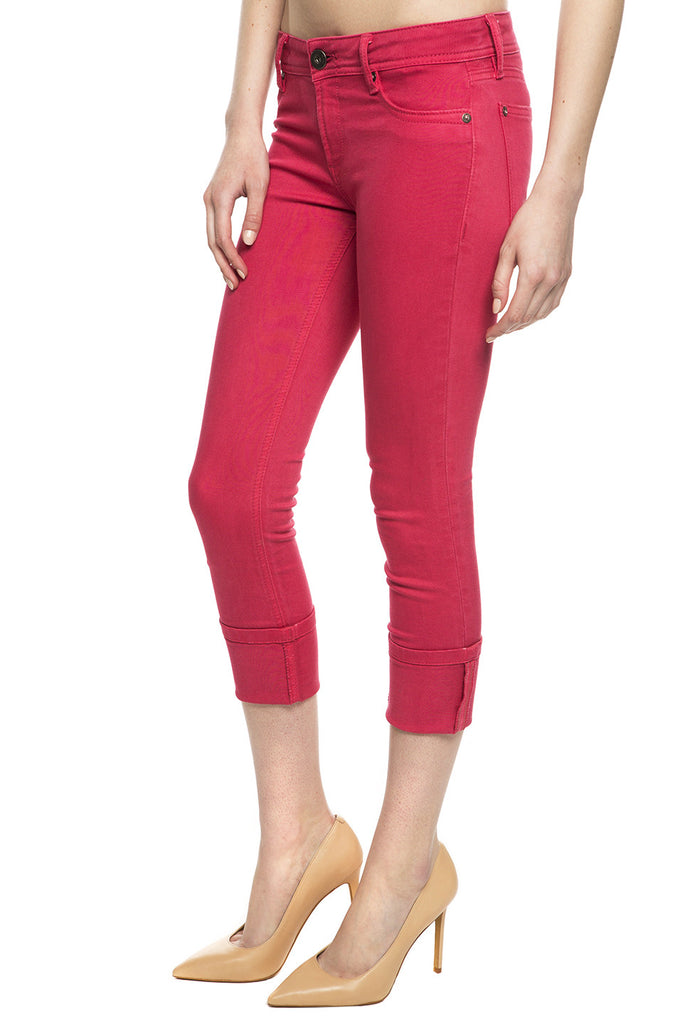 Toni High-Rise Cropped Skinny Jeans